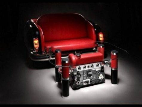Unique Coffee Tables Sofas Made Car Parts