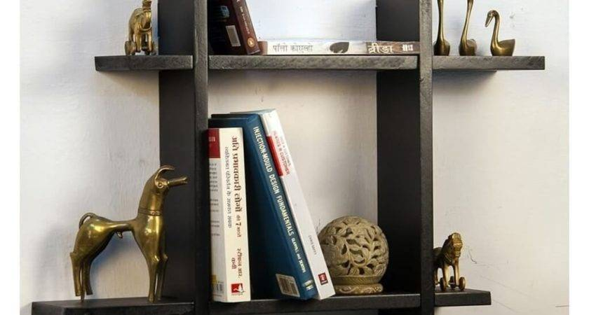 Unique Floating Shelves Fabric Covered