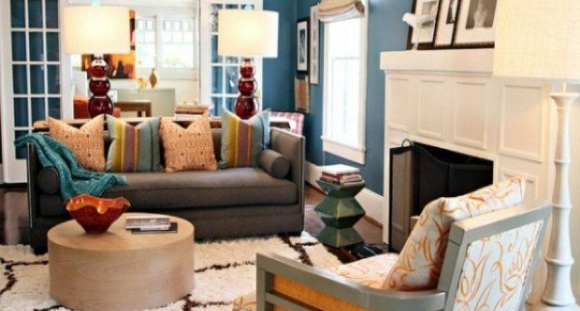 Unique Living Room Decorating Ideas Budget Blue