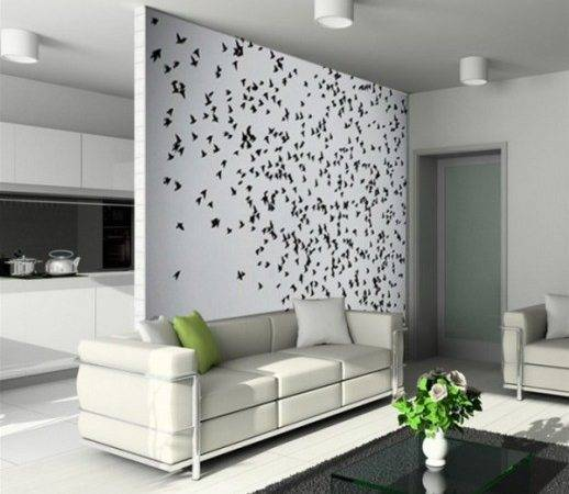 Unique Living Room Wall Decorating Ideas Beautiful Homes