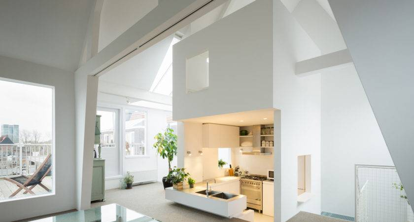 Unique Modern Attic Duplex Apartment Amsterdam