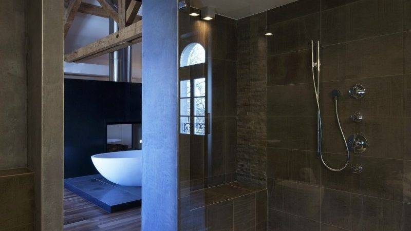 Unique Modern Bathroom Shower Design Ideas