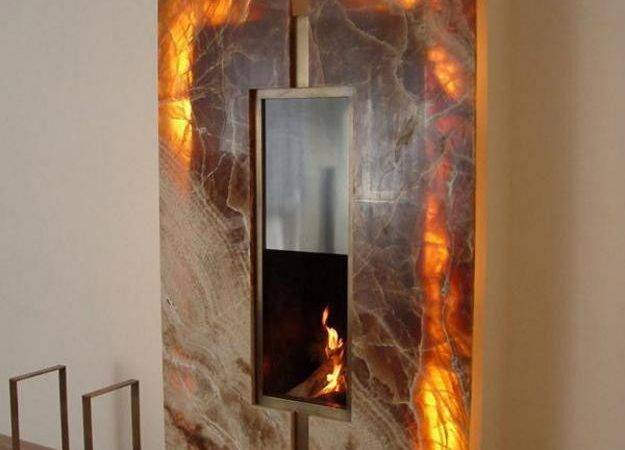 Unique Modern Fireplaces Which Double Duty Creating