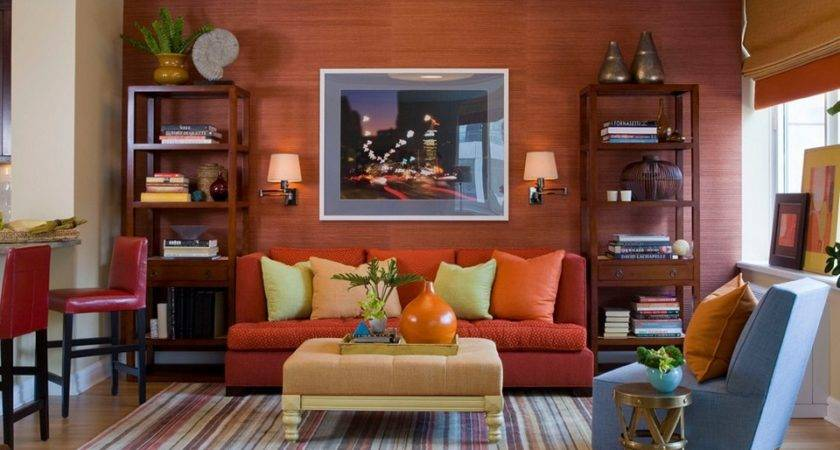 Unique Orange Living Room Ideas Sweet Home