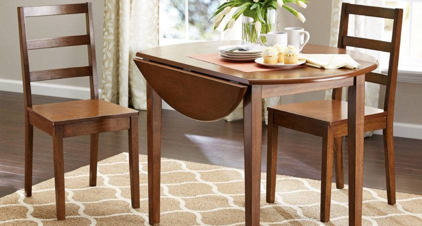 Unique Small Breakfast Table Two Chairs Light Dining Room