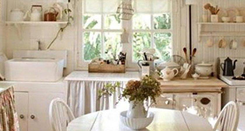 Unique Small Cottage Kitchen Home Decor Arrangement