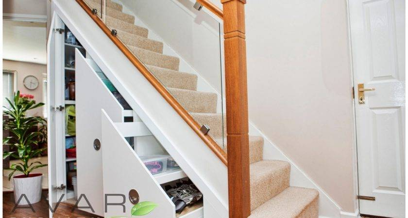 Unique Under Stair Storage Shoe Stairs