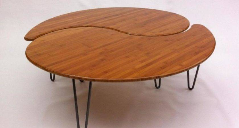 Unique Wooden Coffee Table Design Olpos