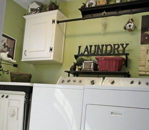 Unused Frame Vintage Laundry Room Wall Decor