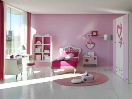 Using Pink Decorate Your Bedroom Design Ideas