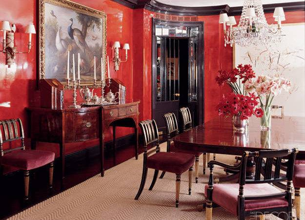 Using Red Interior Design Archives Colorful