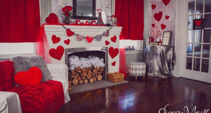 Valentines Sweetheart Living Room Decoration