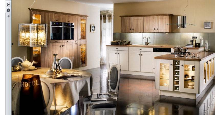Very Beautiful French Kitchens