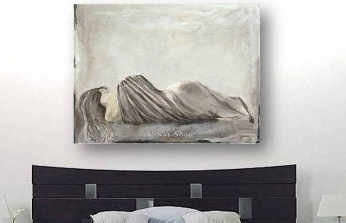 Very Large Wall Art Sexy Bedroom Decor Woman
