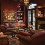 Victorian Style Living Room Home Design Interior
