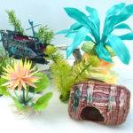 Vintage Aquarium Decor Accessories Plastic Mellowmermaid