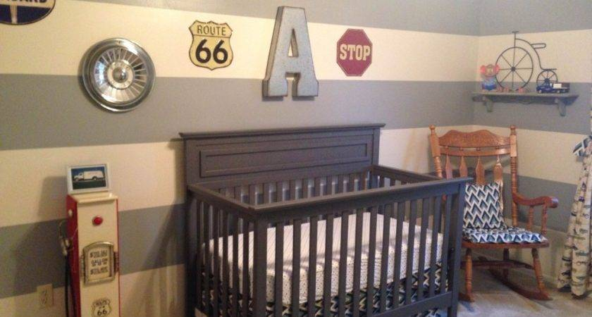 Vintage Car Themed Nursery Project