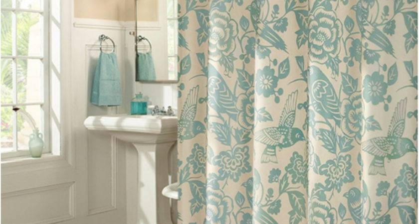 Vintage Country Style Birds Flower Shower Curtain