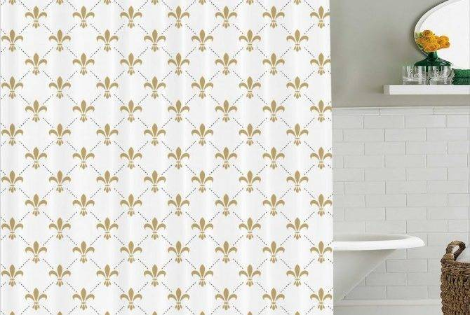 Vintage Looking Shower Curtains Style