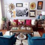 Vintage Small Living Room Decorating Ideas Homstuff