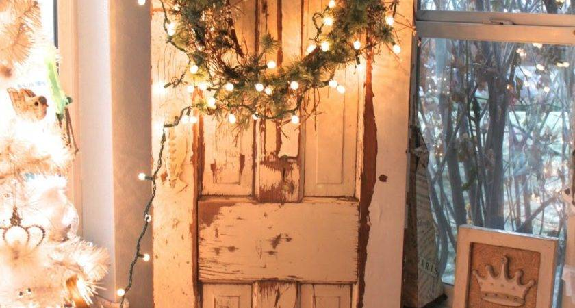 Vintage Sparkle Chic French Shabby Christmas Decorations
