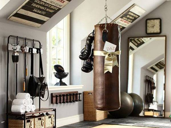Vintage Sport Decorations Man Cave House Design