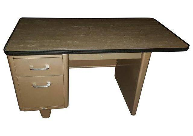 Vintage Steel Tanker Desk Chairish