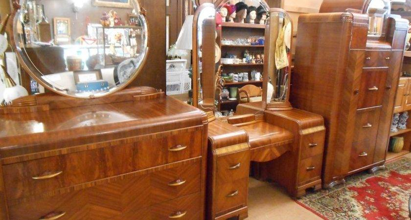 Vintage Waterfall Bedroom Set Must Ebay