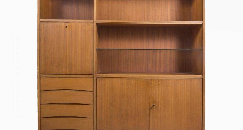 Vintage Wooden Cabinet Drawers Sale Pamono