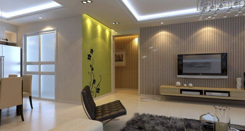Virescent Wall Design Home House