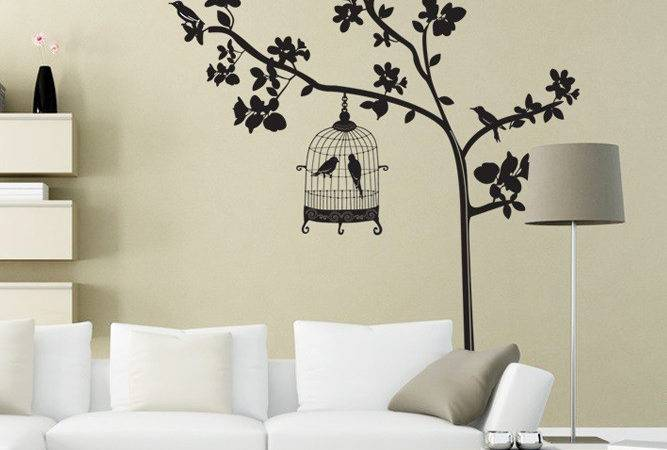 Wall Art Designs Home Decor Sticker Happy Birds
