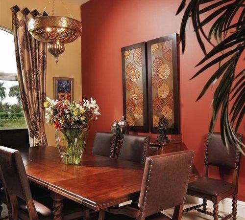 Wall Color Dining Room Home Design Ideas