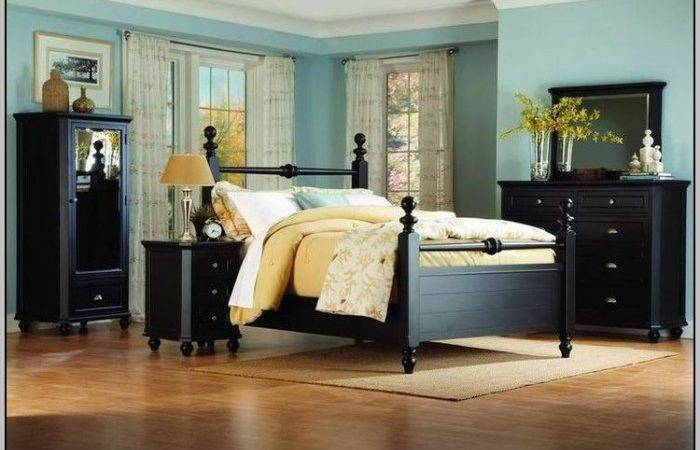 Wall Color Goes Black Furniture Painting