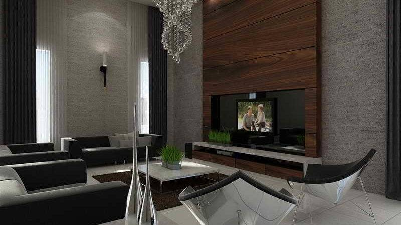 Wall Cool Feature Ideas Living Room