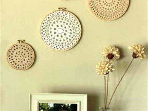 Wall Decor Ideas Using Recycled Materials Diy