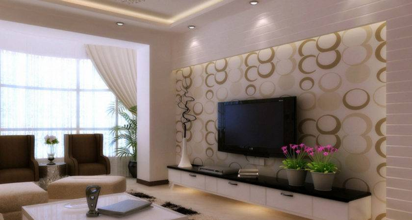 Wall Decoration Modern Style Living Room