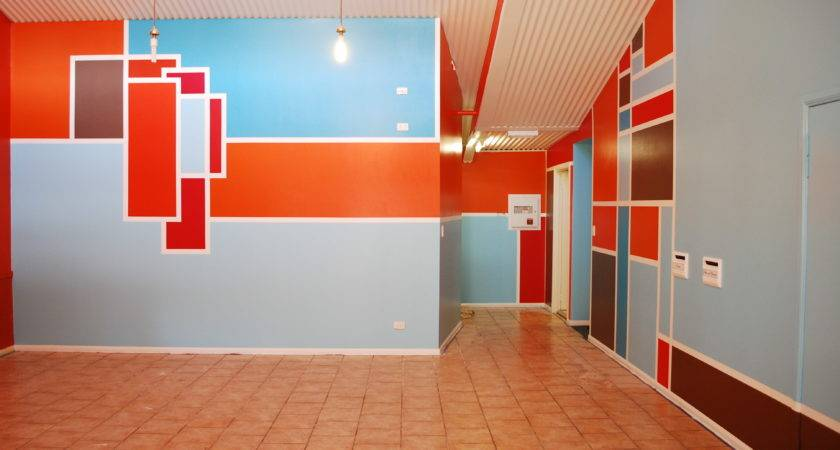 Wall Design Ideas Abstract Color Rukle Paint Colors