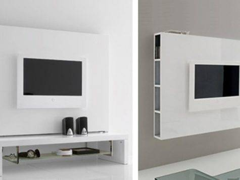 Wall Ideas White Hanging Table