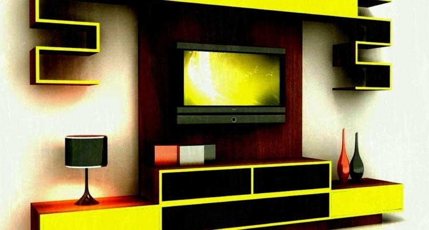 Wall Mounted Flat Screen Decorating Ideas Interior