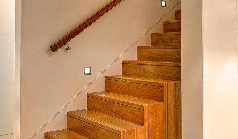 Wall Mounted Handrail Staircase Modern Glass