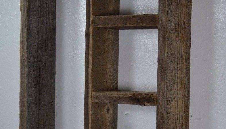 Wall Shelf Rustic Primitive Style Wide Deep