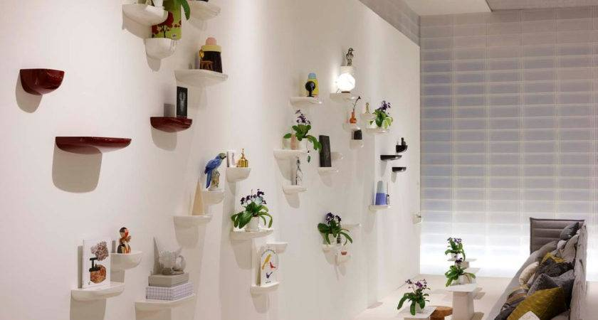 Wall Shelves Decorating Ideas White Floating