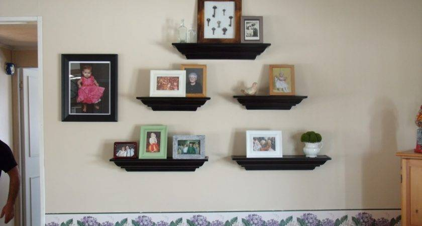 Wall Shelves Design Living Room