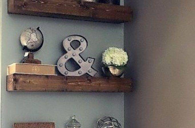 Wall Shelves Floating Decorating Ideas