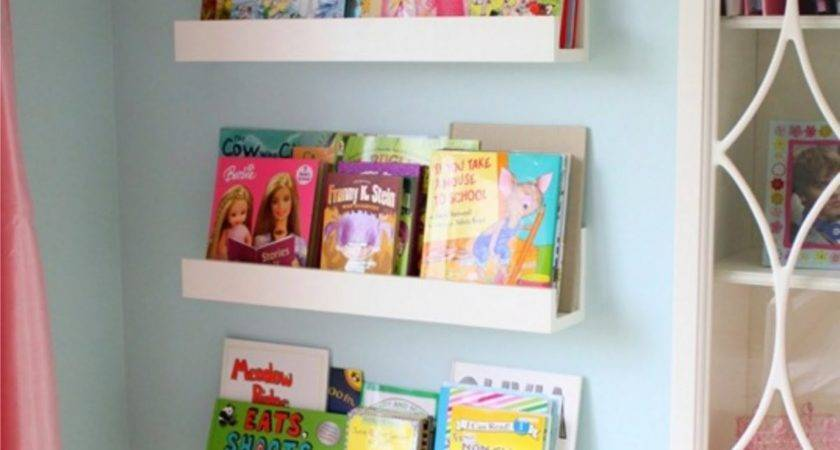 Wall Shelves Kids Room Design Ideas