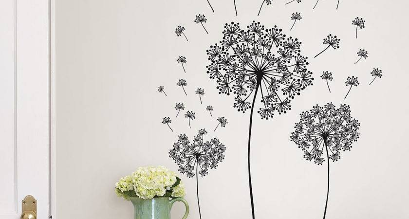 Wallpops Wall Art Kit Dandelion Small Decal