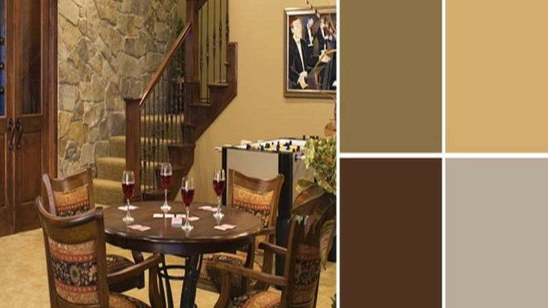 Walls Ruetic Design Furniture Gold Wall Color Painting