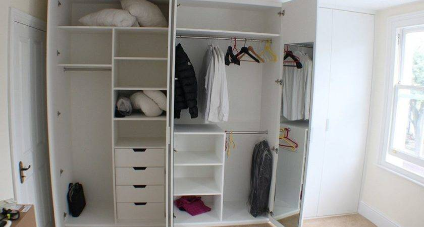Wardrobe Inside Layout Closet Traditional Built