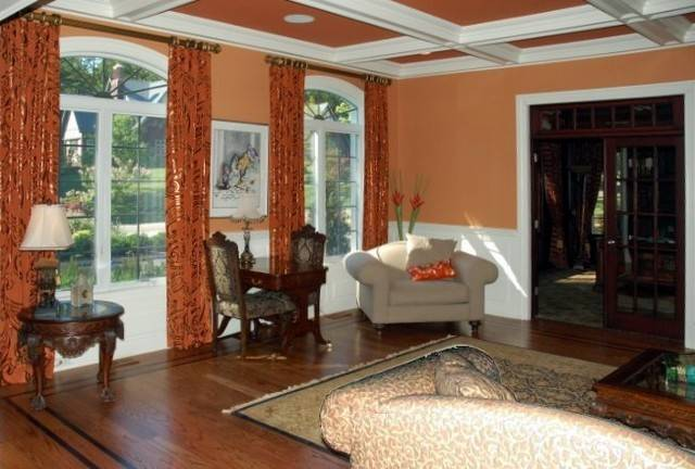 Warm Inviting Living Room Eclectic