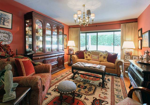 Warm Inviting Living Room Traditional